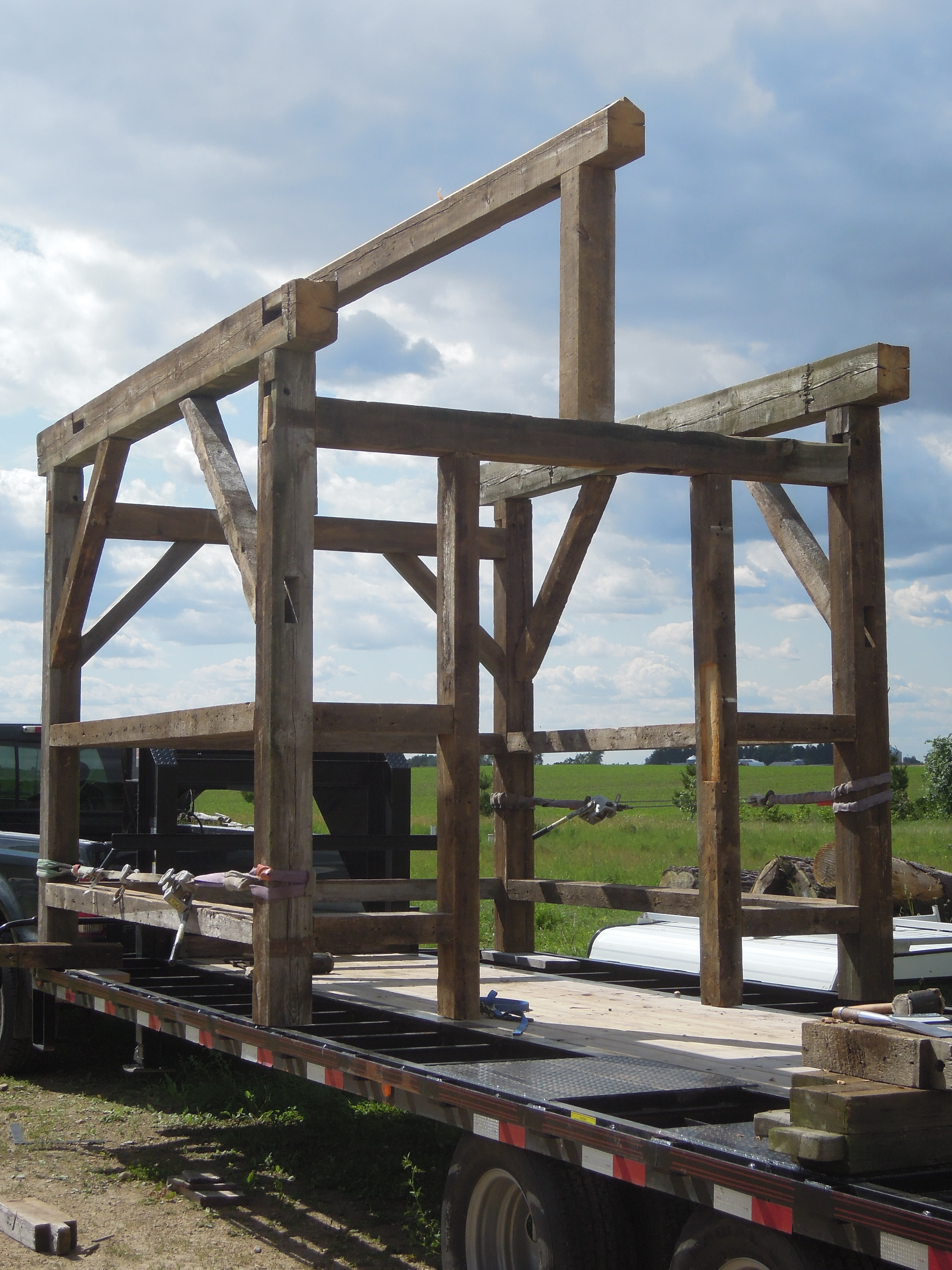 backyard barn frames the tao of carbon