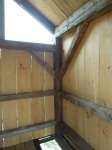 old pine new pine tiny timber frame