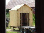 Tiny Timber Frame White Pine Clad